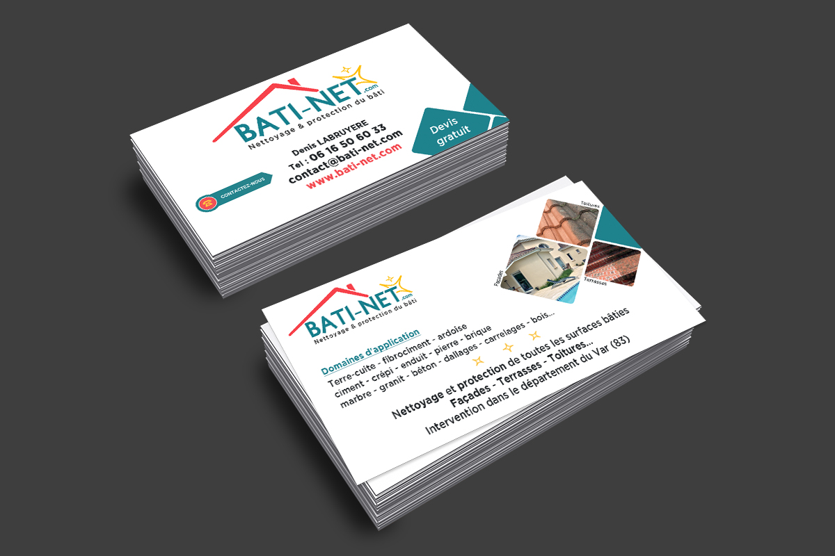 Cartes de visite Bati-Net.com